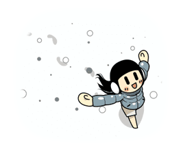 Animated Smile Brush: Winter Edition sticker #8902051