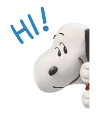 SNOOPY-THE PEANUTS MOVIE- sticker #9104072