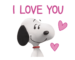 SNOOPY-THE PEANUTS MOVIE- sticker #9104079