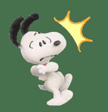 SNOOPY-THE PEANUTS MOVIE- sticker #9104088