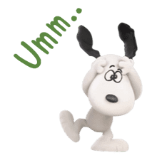 SNOOPY-THE PEANUTS MOVIE- sticker #9104090