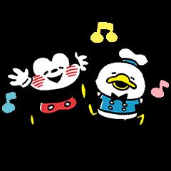 LINEスタンプランキング(StampDB) | カナヘイ画♪ミッキー&フレンズ