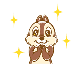 Chip 'n' Dale Fluffy Moves sticker #9381707