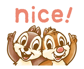 Chip 'n' Dale Fluffy Moves sticker #9381711