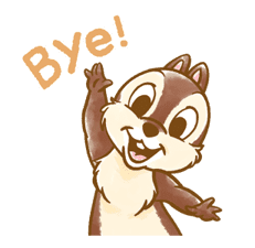 Chip 'n' Dale Fluffy Moves sticker #9381713