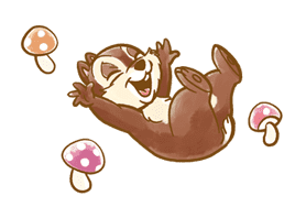 Chip 'n' Dale Fluffy Moves sticker #9381714