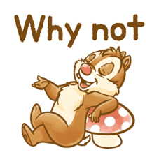 Chip 'n' Dale Fluffy Moves sticker #9381720