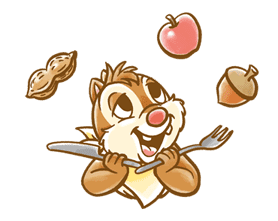 Chip 'n' Dale Fluffy Moves sticker #9381722