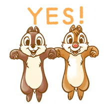 Chip 'n' Dale Fluffy Moves sticker #9381723