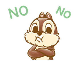 Chip 'n' Dale Fluffy Moves sticker #9381727