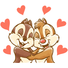 Chip 'n' Dale Fluffy Moves