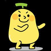สติ๊กเกอร์ไลน์ BananaMan 5: Double Cute