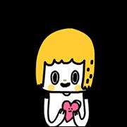 สติ๊กเกอร์ไลน์ Morita Cute 100%