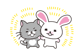 Mofy Animated Stickers 2: Friendship sticker #9475681