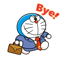 Doraemon on the Job sticker #9475400