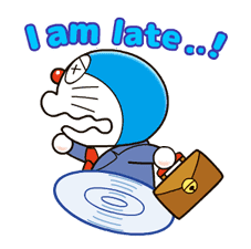 Doraemon on the Job sticker #9475414