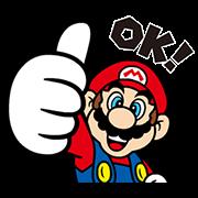 สติ๊กเกอร์ไลน์ Super Marioสติกเกอร์อนิเมชั่น