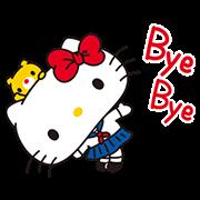 สติ๊กเกอร์ไลน์ Hello Kitty: Simple and Sweet