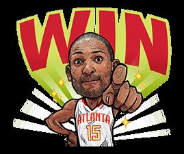 NBA Superstars sticker #9573272