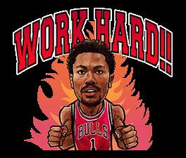 NBA Superstars sticker #9573275