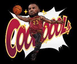 NBA Superstars sticker #9573277