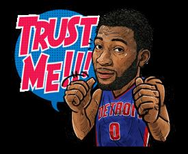 NBA Superstars sticker #9573281