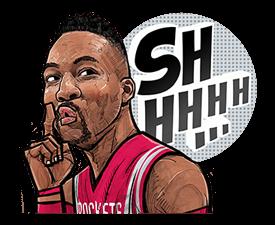 NBA Superstars sticker #9573284