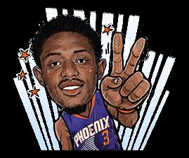NBA Superstars sticker #9573289