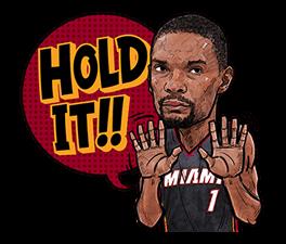 NBA Superstars sticker #9573292