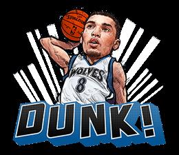NBA Superstars sticker #9573293