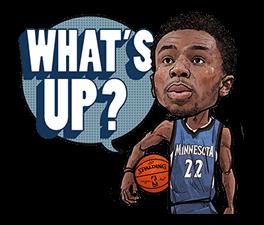 NBA Superstars sticker #9573295