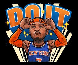 NBA Superstars sticker #9573297