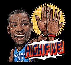 NBA Superstars sticker #9573298