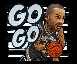 NBA Superstars sticker #9573304