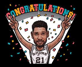 NBA Superstars sticker #9573305