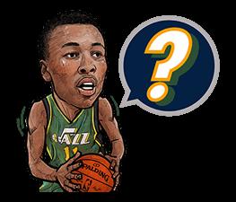 NBA Superstars sticker #9573307