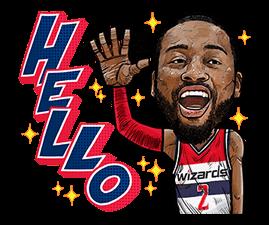 NBA Superstars sticker #9573308