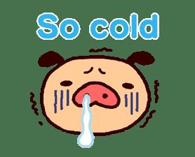 PANPAKA PANTS: Winter Dance sticker #9714681