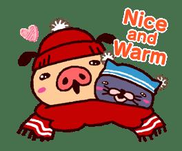PANPAKA PANTS: Winter Dance sticker #9714684