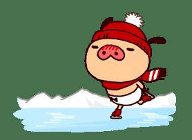 PANPAKA PANTS: Winter Dance sticker #9714685