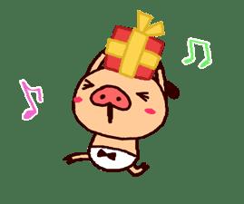PANPAKA PANTS: Winter Dance sticker #9714690