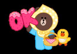LINE X UNICEF: Sweet Love sticker #9747145