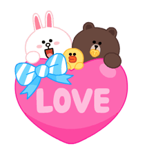 LINE X UNICEF: Sweet Love sticker #9747150