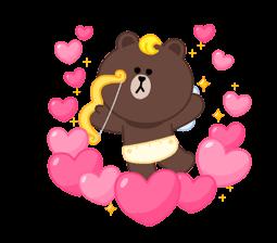 LINE X UNICEF: Sweet Love sticker #9747151