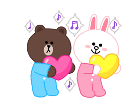 LINE X UNICEF: Sweet Love sticker #9747154