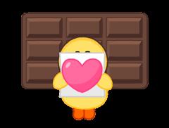 LINE X UNICEF: Sweet Love sticker #9747158