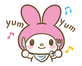 My Melody: Sweet as Can Be! sticker #9805280