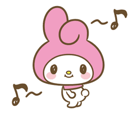 My Melody: Sweet as Can Be! sticker #9805283
