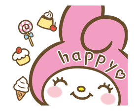 My Melody: Sweet as Can Be! sticker #9805287