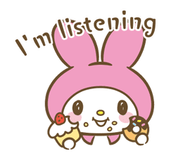 My Melody: Sweet as Can Be! sticker #9805291